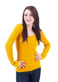 Charming young woman Royalty Free Stock Photo