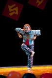Charmingly naive--Folk Dance Royalty Free Stock Photo