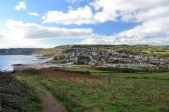 Charmouth стоковое фото