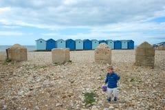 Charmouth, Dorset, UK στοκ εικόνα με δικαίωμα ελεύθερης χρήσης