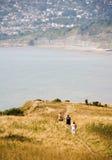 Charmouth giurassico Dorset del litorale immagine stock