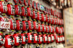 Charms in Senso-ji temple Royalty Free Stock Images