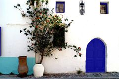 Charms of the urban development of Greece royalty free stock image