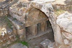 Charmylos tomb Royalty Free Stock Photography