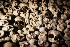 Charnel house interior Stock Images