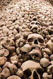 Charnel house interior Royalty Free Stock Photo