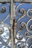 Charnière d'une porte antique Photographie stock