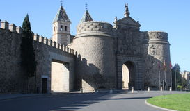 Charnière de porte, Toledo Photo stock