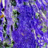 Charoite background Stock Photography