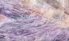 Charoite stone lilac macro texture Stock Photography
