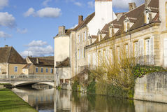 Charolles, Borgoña, Francia, el saone-y-Loira Imágenes de archivo libres de regalías