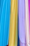 Écharpe de couleur Photos libres de droits