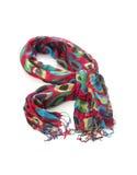Écharpe de tissu de couleur Photos libres de droits