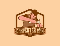 Charpentier Man Photos libres de droits