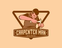 Charpentier Man Photo stock