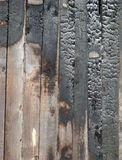 Charred log background texture royalty free stock image