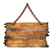Charred wood board Royalty Free Stock Photos