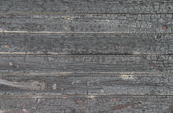 Charred Wooden Background Royalty Free Stock Image