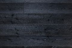 Charred wooden boards texture background. stock photos