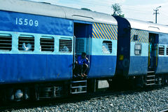 Charriot indien de rail Images stock