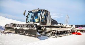 Charrue de neige Image libre de droits