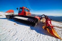Charrue de neige Images libres de droits