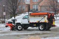 Charrue de neige du Kentucky Images stock