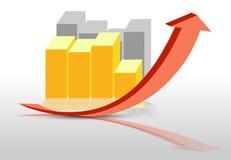 Chart vector illustration