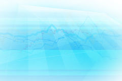 Chart abstract background Royalty Free Stock Photo