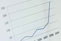 Chart - Blue Stock Images