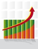 Chart development Royalty Free Stock Photos