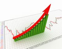 Chart, diagram Stock Photo