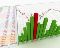 Chart, diagram Royalty Free Stock Images