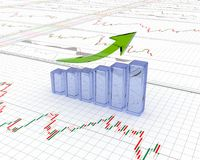 Chart, diagram Royalty Free Stock Photo