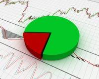 Chart, diagram Stock Photography