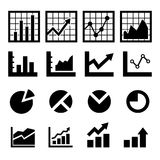 Chart and Diagram Icon Royalty Free Stock Image