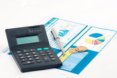 Chart finance Stock Photography