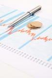 Chart finance Stock Photography