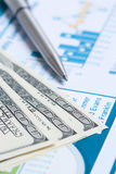 Chart finance Stock Images