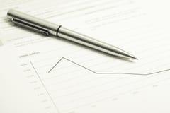 Chart finance Stock Photos