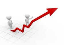 Chart financial Royalty Free Stock Photo