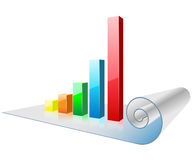 Chart and graph Stock Photography