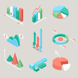 Chart and Graphs Statistics Elements. Finance Analysis. Business Analytics Stock Photography