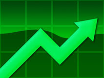 Chart Green Stock Photos