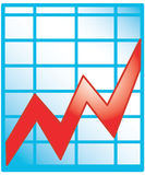 Chart Icon Stock Photography
