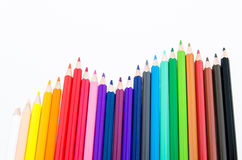 Pencil chart Stock Photography