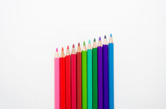 Pencil chart Royalty Free Stock Photos
