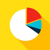 Chart Pie Flat Icon Royalty Free Stock Photography