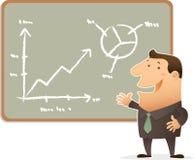 Chart Presentation Stock Image