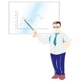 Chart presentation Stock Photos
